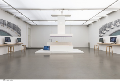 DIS, The Island (KEN), 2015, Created in collaboration with Dornbracht and co-designed by Mike Meiré. Musée d'Art Moderne de la Ville de Paris. Photo: © Pierre Antoine