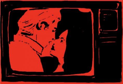 TELENOVELA ILLUSTRATION RED